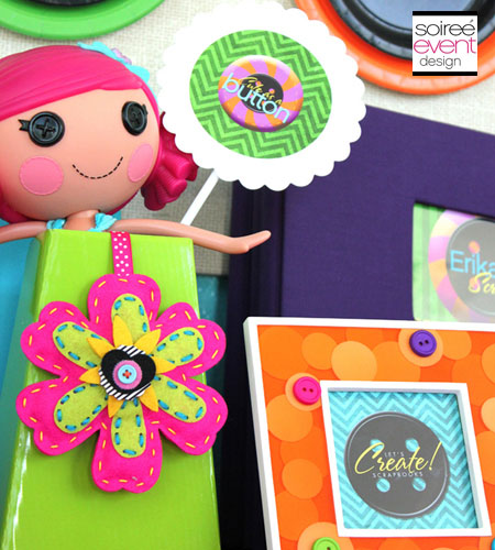 """Cute As A Button!""� Printables Package"