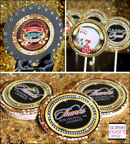 """Casino Royale"" Party Printables Package"
