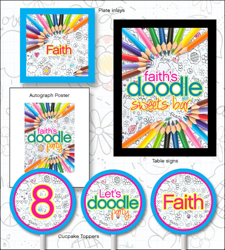 """Let's Doodle!""© Printables Package"