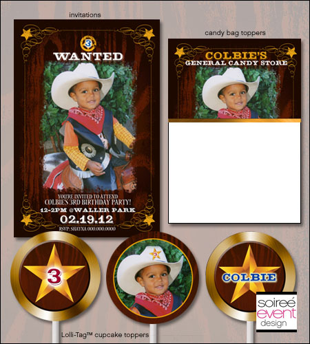 """Giddy Up!""© Cowboy Printables Package"