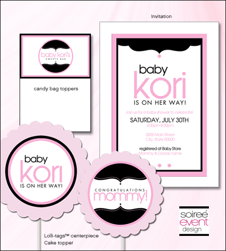 """Girly Baby!""© Baby Shower Printables"