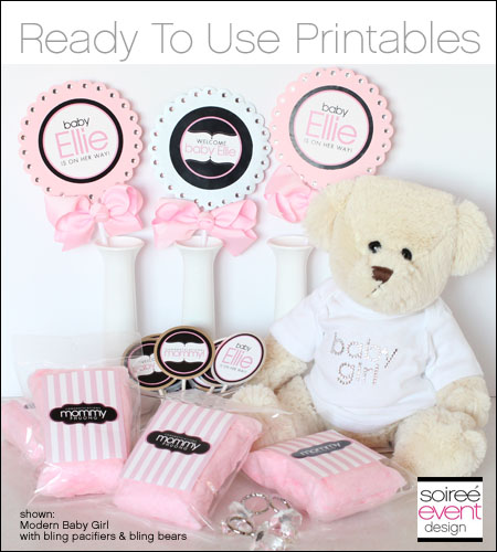 Ready to Use Printables Party Package for 12