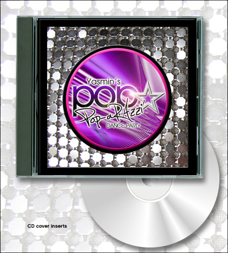 """POP-arazzi!""™ CD Cover Favors"