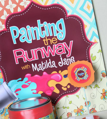 """Paint The Runway"" Printables Package"
