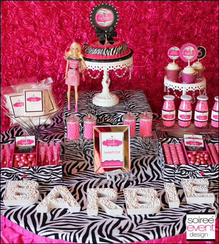 """Safari-licious!""� Zebra Glam Printables Package"