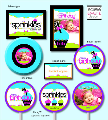 """Sprinkles!""� Printables Package"