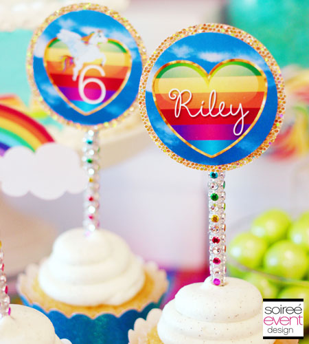 """Sparkle Rainbow"" Printable Package"